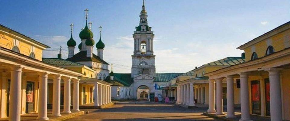 ПО ДРЕВНЕЙ КОСТРОМСКОЙ ЗЕМЛЕ. Плес, Нерехта, Кострома. Архитектурно-историческое путешествие.